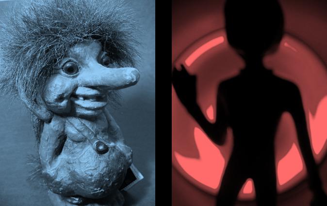 Troll vs Martian BW